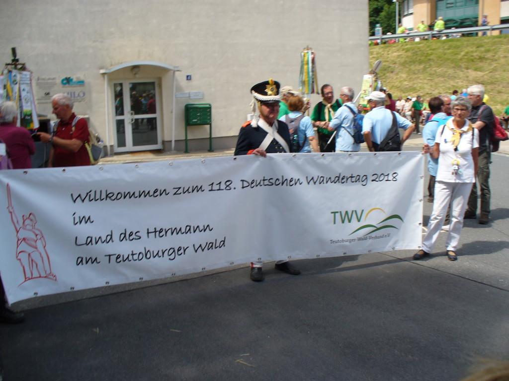 """Bereits am 26.06.16 die erste Werbung für """"unseren"""" Wandertag"""